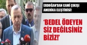 Erdoğan'dan Washington'a sert tepki!