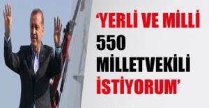 Erdoğan Yenikapı'daki mitingde HDP ve PKK'yı yerden yere vurdu!