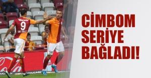 Galatasaray seriye bağladı! Gaziantepspor'u 2-1'le geçti!