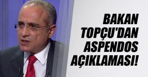 Kültür ve Turizm Bakanı Yalçın Topçu'dan Aspendos Antik Tiyatrosu açıklaması!