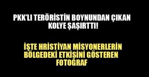 PKK'lı teröristin boynundan bakın ne çıktı?