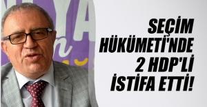 Seçim hükümetindeki HDP'li bakanlar Ali Haydar Koca ve Müslüm Doğan istifa etti!