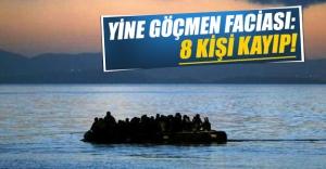 Yunanistan'ın İstanköy Adası'na geçmeye çalışan kaçak botu alabora oldu! 8 kişi aranıyor...