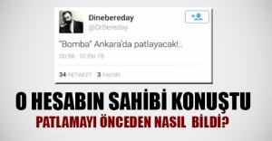 Ankara'daki patlamayı önceden nasıl bildi? İşte cevabı...