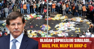 Ankara'daki saldırıyı kim yaptı? Başbakan olağan şüphelileri sıraladı...