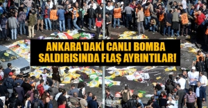 Ankara'daki saldırıyla ilgili flaş açıklamalar! Ankara Cumhuriyet Başsavcılığından son dakika haberi