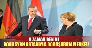 Erdoğan'dan karşı hamle! Almanya'da koalisyon ortağı ile görüşecek