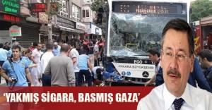Melih Gökçek Ankara'daki feci kaza sonrası otobüs şoförünü suçladı!