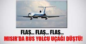 Son dakika - Mısır'da Rus yolcu uçaği düştü! Uçakta 217 yolcu ve 7 mürettebat vardı!