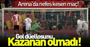 Aslan kendi evinde kükreyemedi! (Galatasaray 3-3 Antalyaspor) Maç özeti
