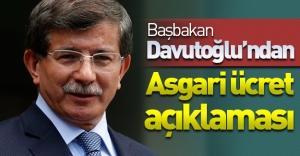 Başbakan Davutoğlu hükümet programını açıkladı! Asgari ücret konusuna değindi!