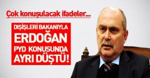 Dışişleri Bakanı Erdoğan gibi düşünmüyor: PYD terör örgütü değildir