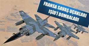 IŞİD'in kalesi Rakka bombalandı