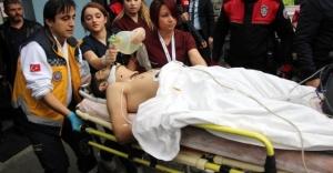 Kadın doktoru kalbinden bıçaklayıp 5. kattan aşağı atladı