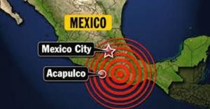 Meksika'da deprem paniği! 5.5'lik deprem paniğe yol açtı!