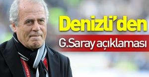 Mustafa Denizli'den flaş Galatasaray açıklaması!