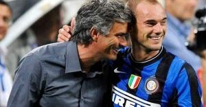 Sneijder eski hocasına destek çıktı:  Chelsea, Mourinho'yu gönderirse büyük hata yapar