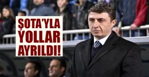 Trabzonspor teknik direktör Şota ile yolları ayırdı!