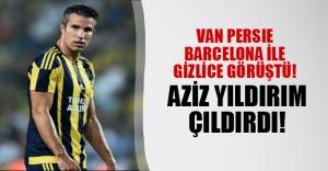 Van Persie gemileri yakıyor! Yıldız oyuncunun Barcelona ile gizlice görüştüğü ortaya çıktı! Fenerbahçe kulübü karıştı...