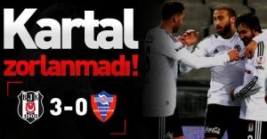 Beşiktaş, Kardemir Karabükspor karşısında rahat kazandı! (Beşiktaş 3-0 Kardemir Karabükspor)