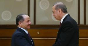 Beştepe'de Erdoğan-Barzani görüşmesi!