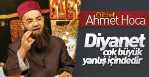 """Cübbeli Ahmet Hoca'dan Diyanet'e çağrı: """"Diyanet çok büyük yanlış içindedir''"""