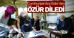Cumhuriyet Ara Güler'den özür diledi