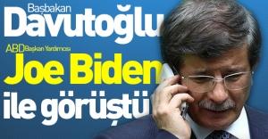 Davutoğlu'ndan kritik IŞİD telefonu!