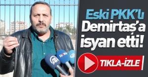 Eski PKK'lı yönetici, Demirtaş'a isyan etti! TIKLA-İZLE