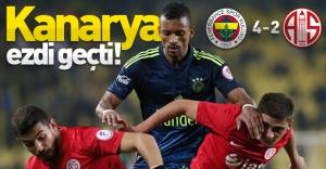 Fenerbahçe, Antalyaspor'u ezdi geçti! (Fenerbahçe 4-2 Antalyaspor)