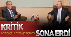 Kritik Çavuşoğlu-Lavrov görüşmesi sona erdi!