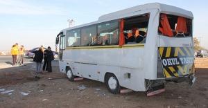 Malatya'da öğrenci servisi ile kamyon çarpıştı: 5'i ağır 16 yaralı - Malatya haberleri