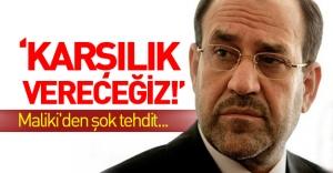 Maliki haddini aştı, Türkiye'yi ikiyüzlülükle suçladı