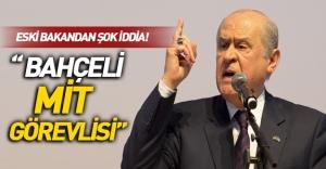 """Namık Kemal Zeybek: """"Devlet Bahçeli MİT görevlisidir'"""
