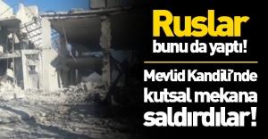 Ruslar bunu da yaptı! Mevlid Kandili'nde kutsal mekana saldırdılar!