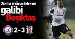 Zorlu mücadelenin galibi Beşiktaş oldu! (Osmanlıspor 2-3 Beşiktaş)