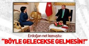 Erdoğan'dan Zana'ya 'randevu' cevabı!