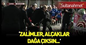 Erdoğan mesajlarını Sultanahmet'ten verdi!