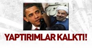 İran nükleer anlaşmaya uydu, yaptırımlar kalktı!