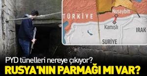 PYD'nin silahları tünellerden geliyor!