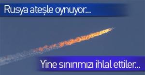 Rus uçağı Türk hava sahasını yine ihlal etti!