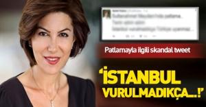 Sedef Kabaş'tan skandal 'Sultanahmet' tweeti