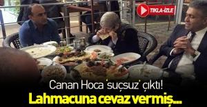 """Canan Hoca """"suçsuz"""" çıktı! Karatay lahmacuna cevaz vermiş..."""