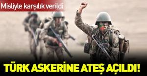 IŞİD Türk askerine ateş açtı