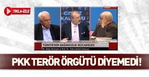 Yalçın Küçük PKK'ya terör örgütü diyemedi