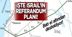 """İşte Batı'nın ve İsrail'in """"referandum"""" planı!"""