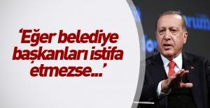 Erdoğan 3 belediye...