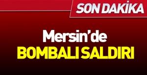 Mersin'de polise bombalı saldırı