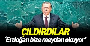 Rahatsız oldu: Erdoğan bize meydan...
