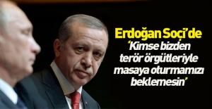 Erdoğan: Suriye'de terörist unsurlar dışlanmalı